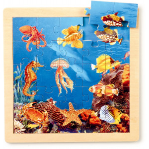 7288 Puzzle Tiere1 - HTUK Gifts