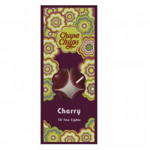 Chupa Chups 10pk Tea Lights Cherry 45454 - HTUK Gifts