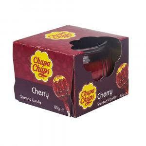 Chupa Chups 3oz Candle Cherry 4Asst 45355 Pic 1 - HTUK Gifts