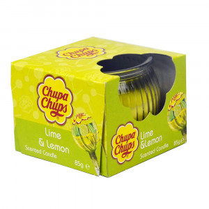 Chupa Chups 3oz Candle Lime Lemon 4Asst 45355 Pic 1 - HTUK Gifts