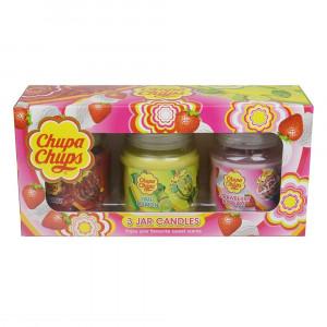 Chupa Chups 3pk Asst 3oz Jar Set 45285 Pic 2 - HTUK Gifts