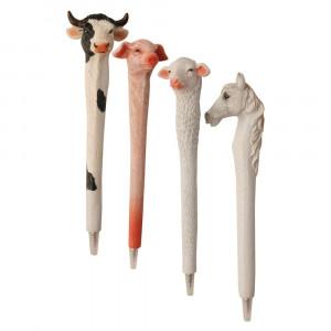 Farm Sculpted Pen ddert60 - HTUK Gifts