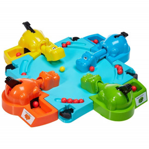 Hasbro Gaming Elefun Friends Hungry Hungry Hippos Game 222 - HTUK Gifts