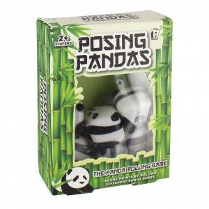 PP4168 Purple Donkey Posing Pandas Packaging - HTUK Gifts