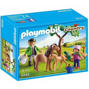 Playmobil 6949 Country Vet with Pony and Foal 111 - HTUK Gifts