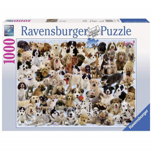 Ravensburger Dogs Galore 1000 Piece Jigsaw Puzzle 111 - HTUK Gifts
