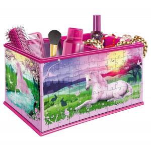 Ravensburger My 3D Boutique Unicorns Vanity Box 3D Jigsaw Puzzle 216 Pieces 222 - HTUK Gifts