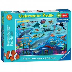 Ravensburger Underwater Realm 60 Piece Giant Floor Jigsaw Puzzle 55 - HTUK Gifts