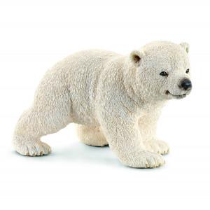 Schleich 14708 Wild Life Polar Bear Cub Walking 221 - HTUK Gifts