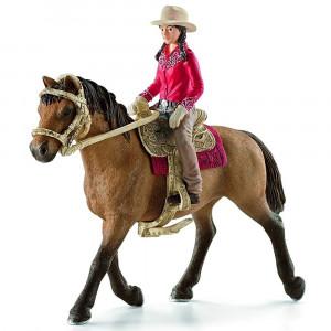 Schleich 42112 Horse Club Western Rider - HTUK Gifts