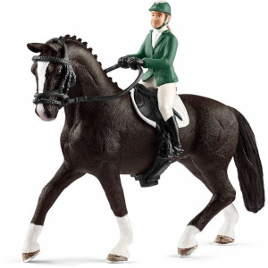 Schleich Showjumper with Horse 2 - HTUK Gifts