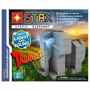 Stax Hybrid Trumpeting Elephant hhy - HTUK Gifts