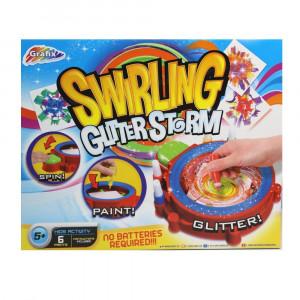 Swirling Glitter Storm Art Set 01113 - HTUK Gifts