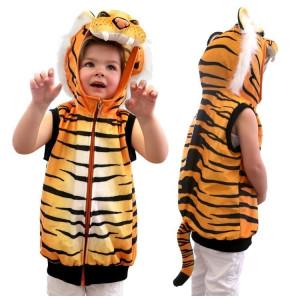 Tiger Costume Vest 1 - HTUK Gifts
