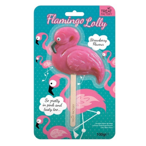 Treat Factory Flamingo Lolly ffgt6 - HTUK Gifts