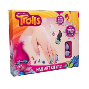 Trolls Nail Art Set Kit 2222 - HTUK Gifts