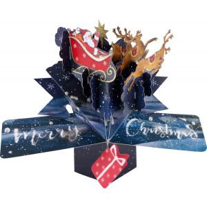 XPOP052 Santa n Sleigh massive 1 - HTUK Gifts