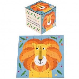charlie the lion mini puzzle 27317 - HTUK Gifts