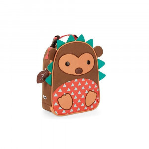 skiphop zoo lunchie insulated kids lunchbag hedgehog 4 - HTUK Gifts