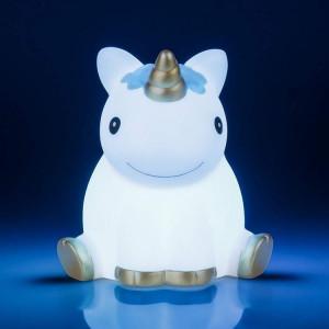 unicorn night light blue - HTUK Gifts