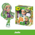 Doll Squares-Jade