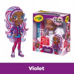 Doll Squares-Violet