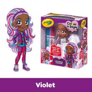 Doll Squares Violet - HTUK Gifts