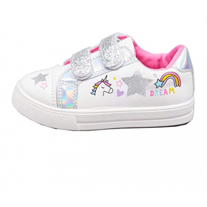 Girls Canvas Pumps Unicorn Lowtop Trainers - HTUK Gifts